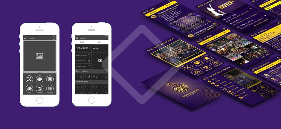 KKR ios app Wire-framing and App testing | Canvs.in