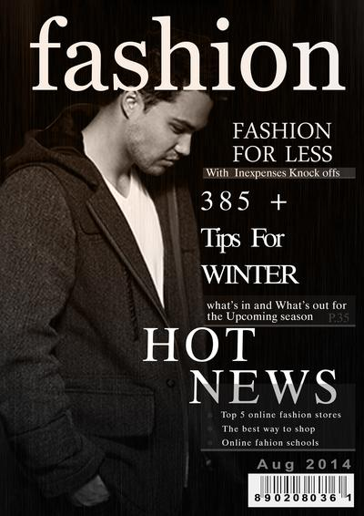 Fashion Cover Page Canvs In