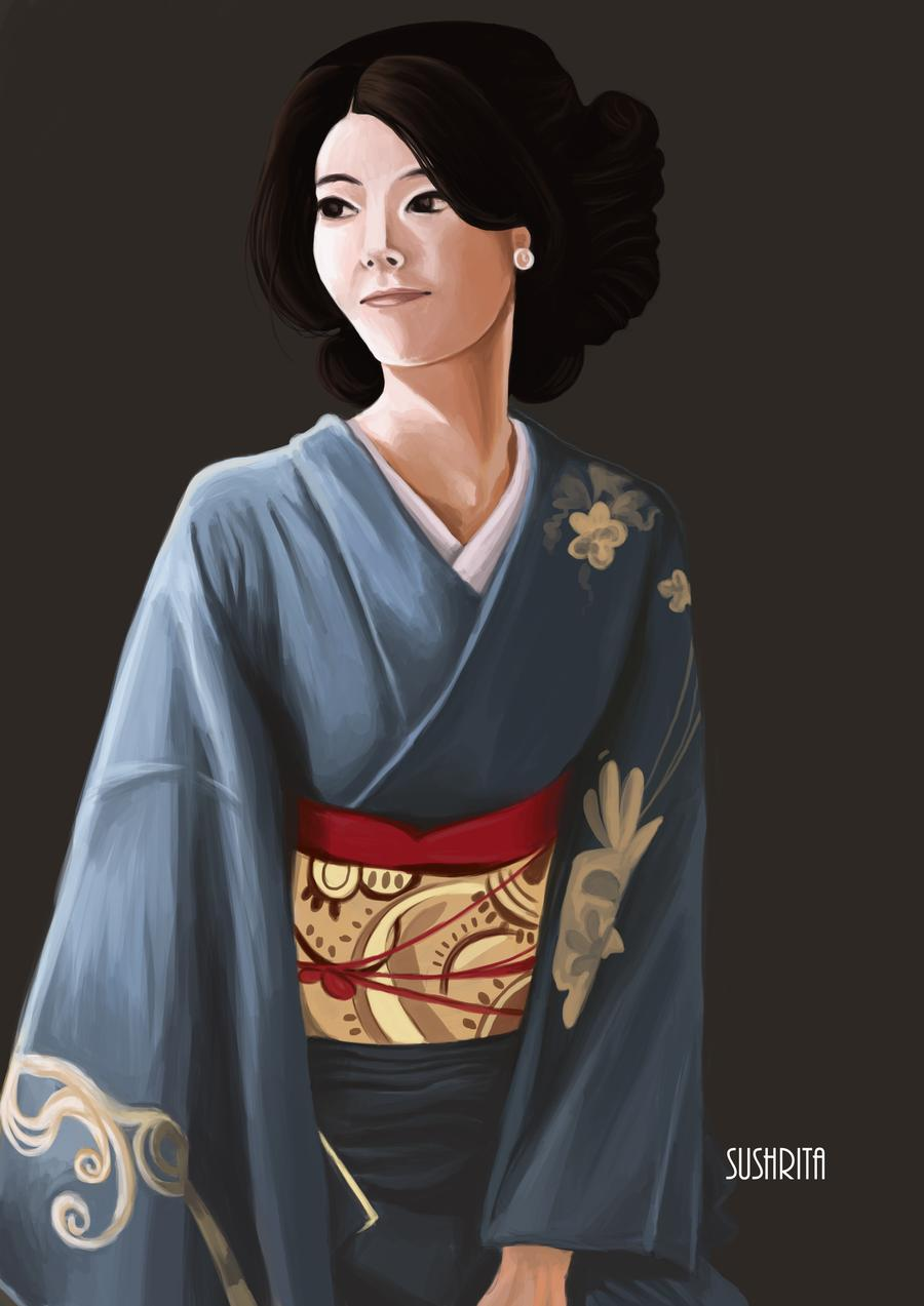 Japanese lady | Canvs.in